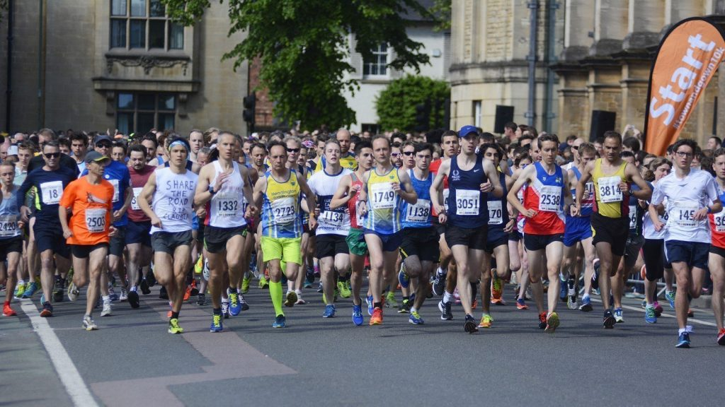 Oxford Town and Gown 2019 10k Run