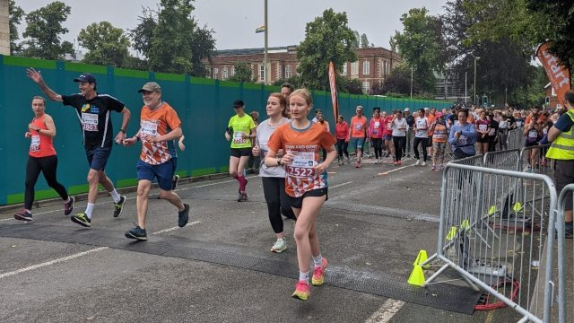 Over 2000 runners take part in Oxford Town and Gown 2021 10k race for Muscular Dystrophy UK.