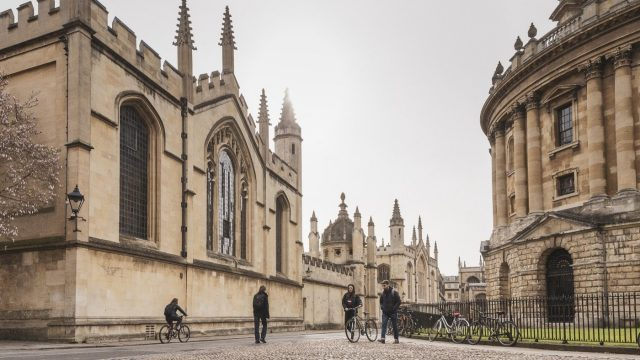 Oxford University most influential research institution in the UK