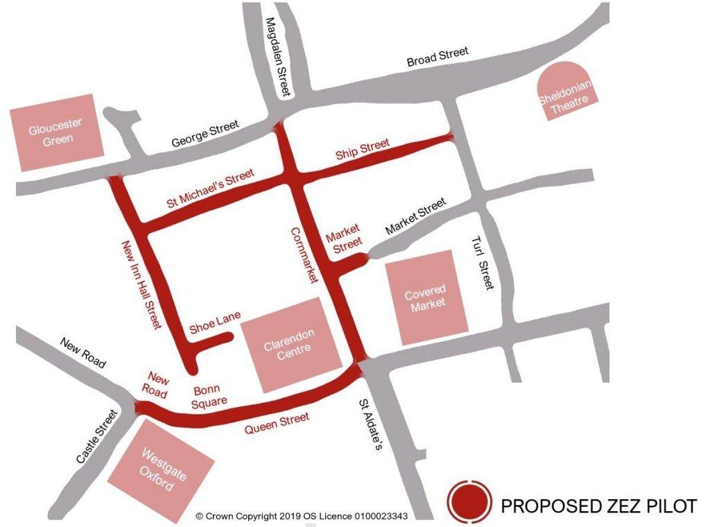 Oxford's Zero Emission Zone Pilot proposal