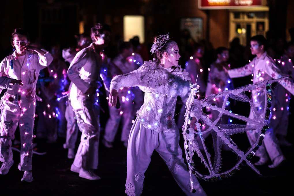 Performances at Oxford's Christmas Light Festival 2019