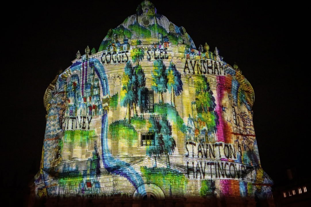 Oxford's Christmas Light Festival 2019 Highlights - Light Installations Image 01