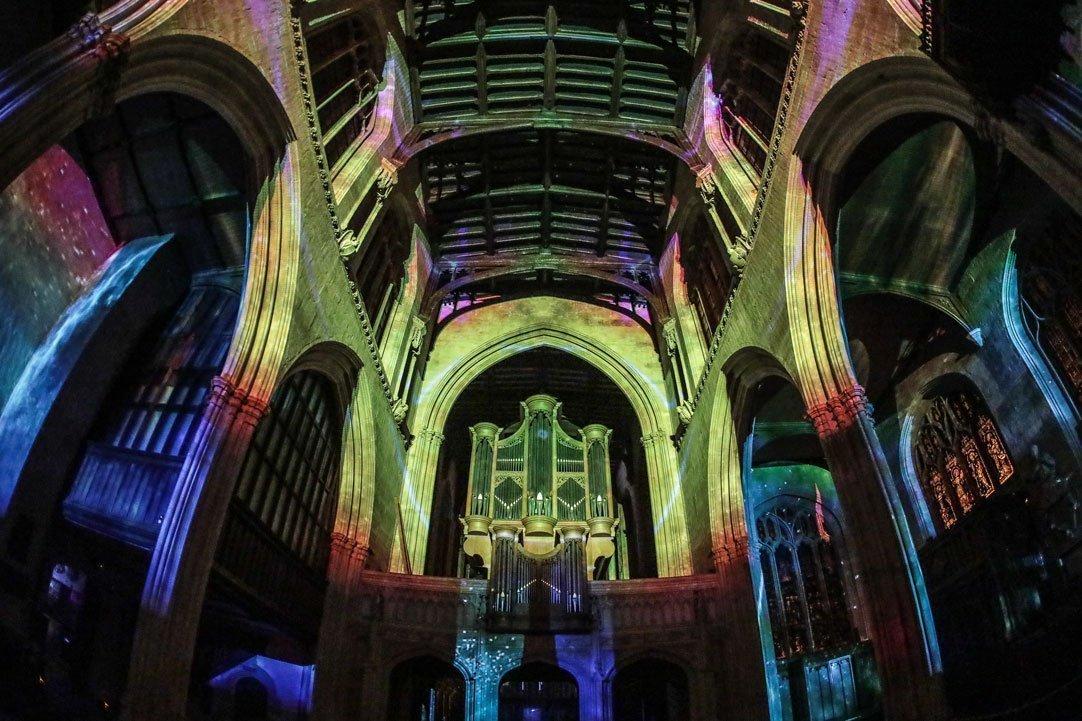 Oxford's Christmas Light Festival 2019 Highlights - Light Installations Image 02