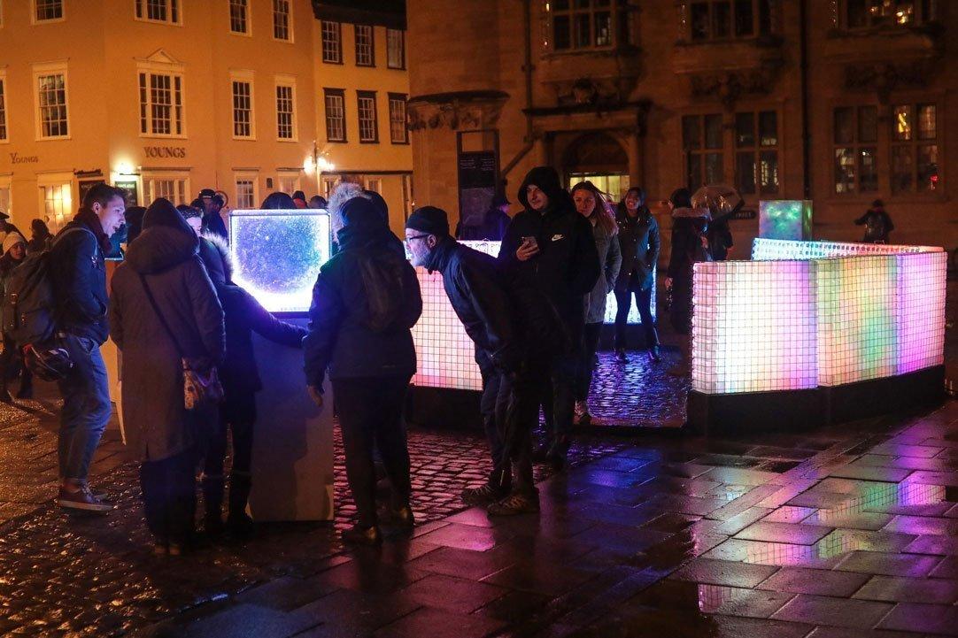 Oxford's Christmas Light Festival 2019 Highlights - Light Installations Image 03