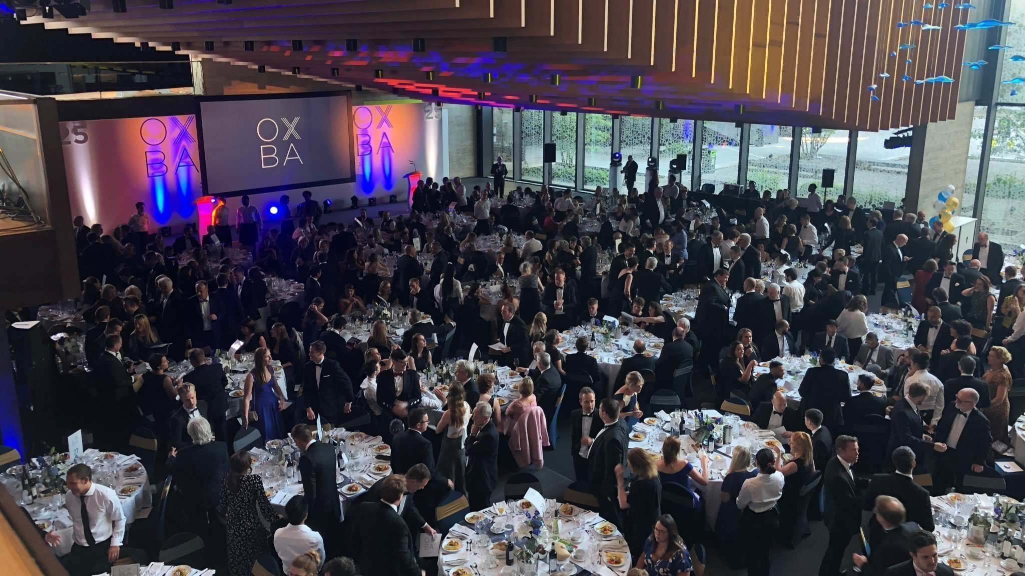 Oxfordshire Business Awards 2020 launches today. Image: The 25th Oxfordshire Business Awards Dinner at the John Henry Brookes Building at Oxford Brookes University on Friday 14 June 2019.