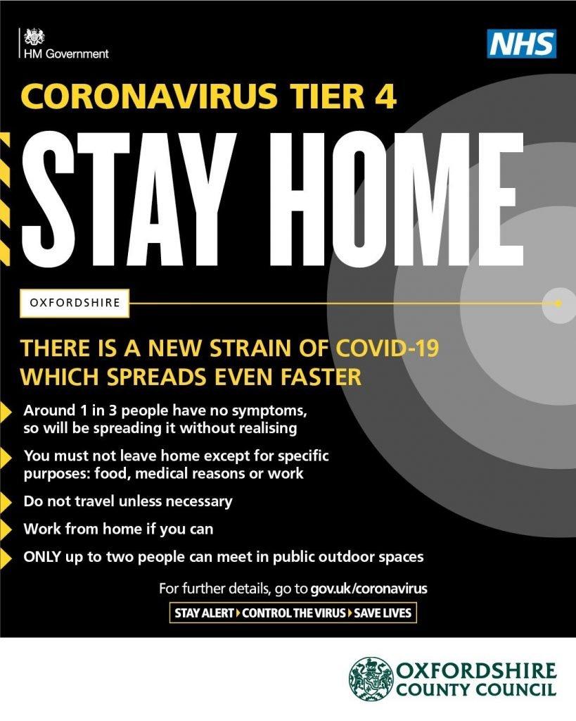 Oxfordshire County Council coronavirus update
