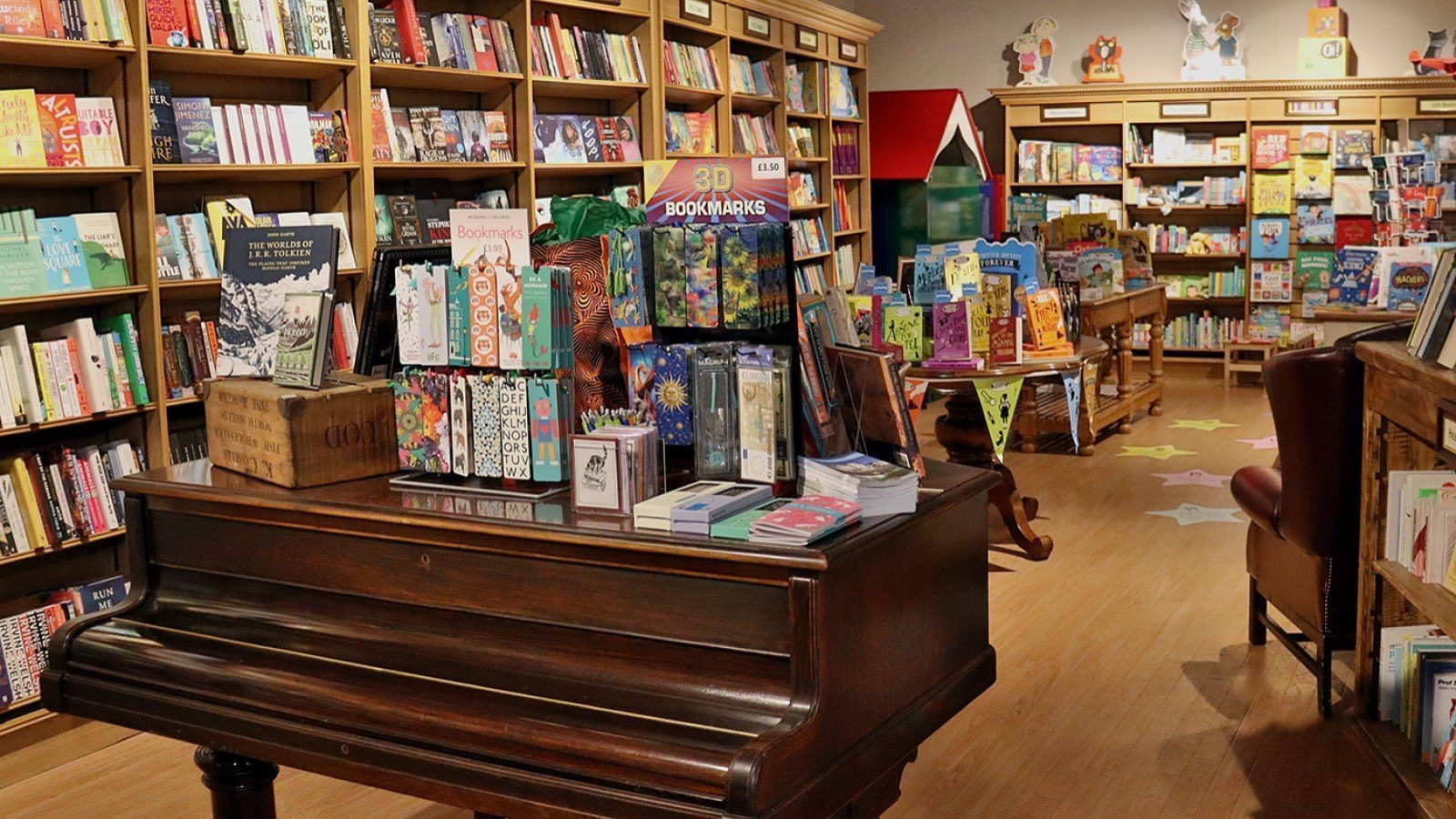 a selection of the Oxfordshire's independent bookshops