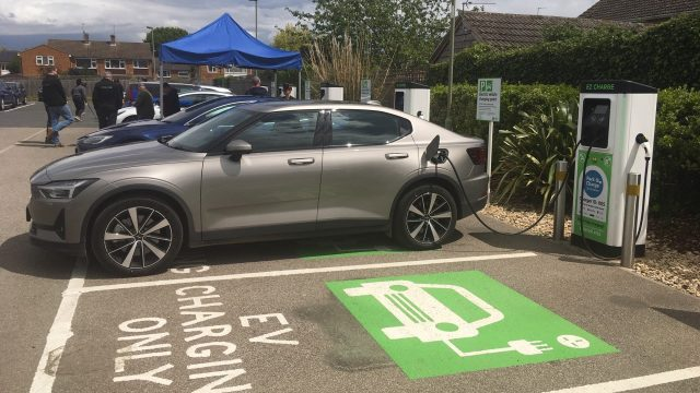Electric vehicle users can Park and Charge in Bicester as new hub opens