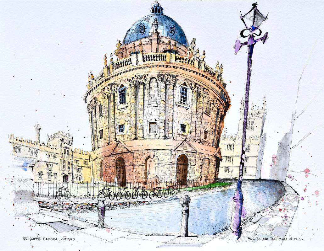 Oxfordshire Artweeks Festival 2021 - Gallery Image 07 - Paul Tomlinson, Radcliffe Camera Oxford, 2020