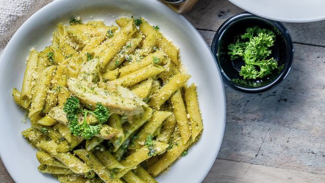 Mix and Match Pesto Pasta Recipe