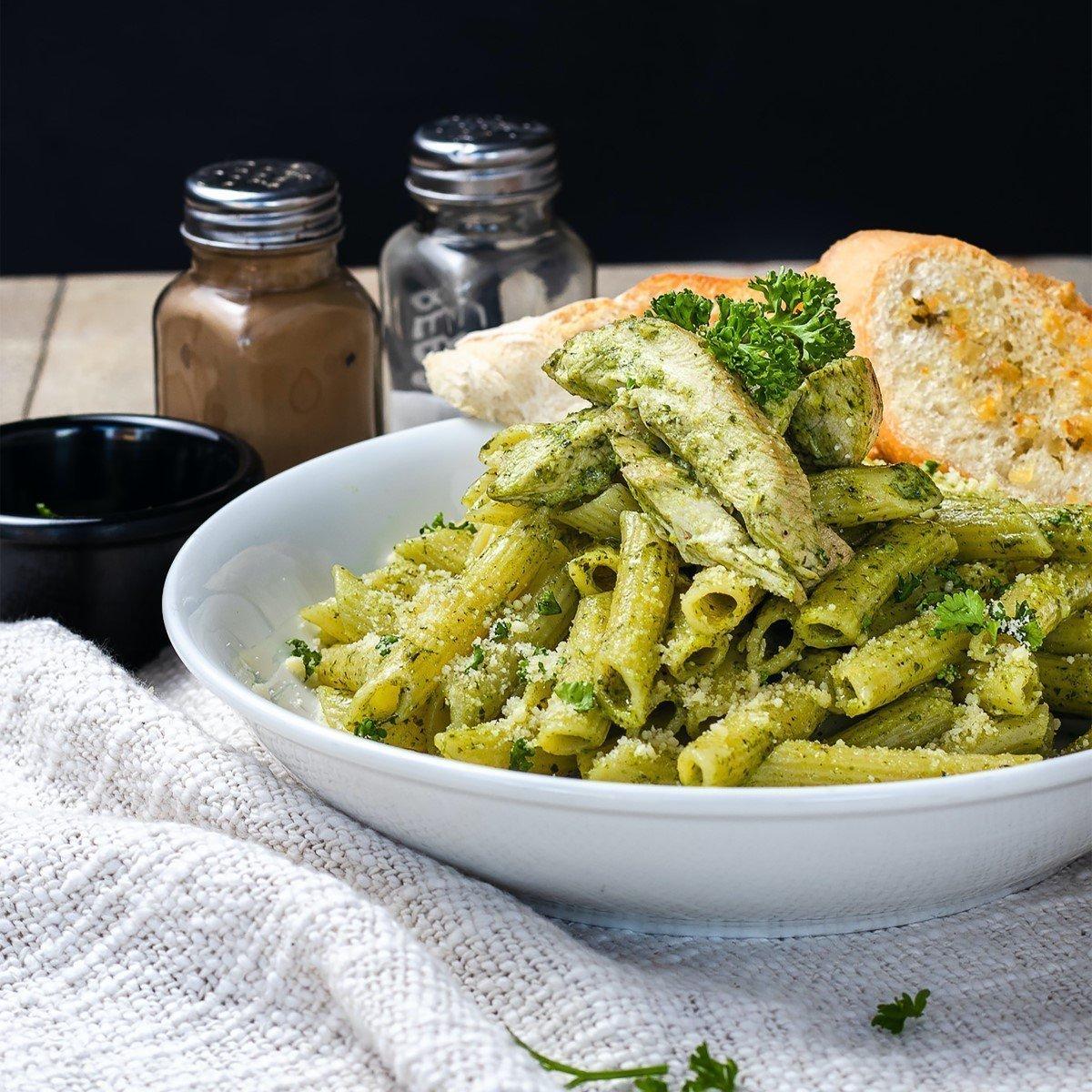 Mix and Match Pesto Pasta Recipe