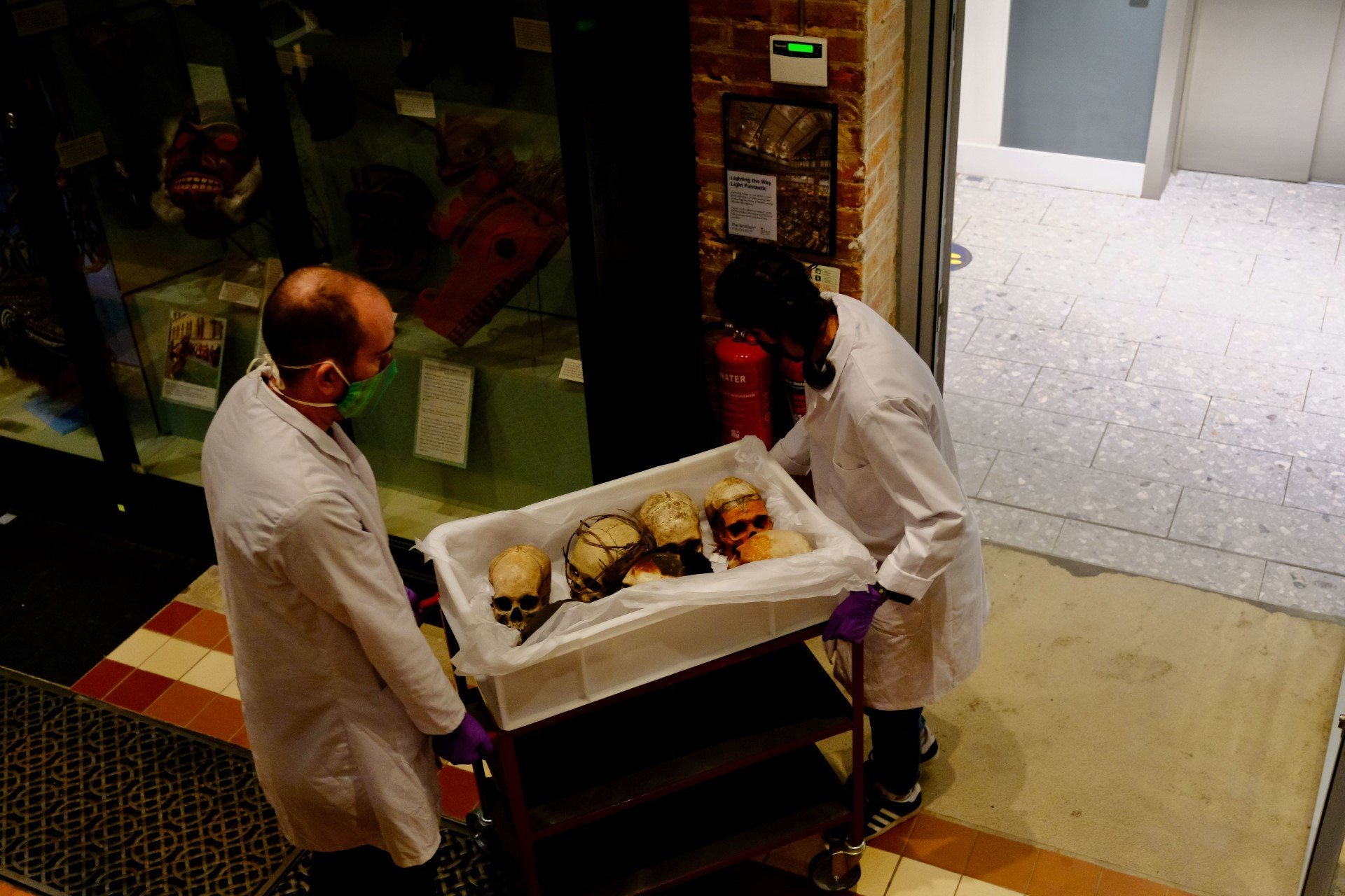 Pitt Rivers Museum reopening will reveal critical changes to displays - Human Remains being taken into storage