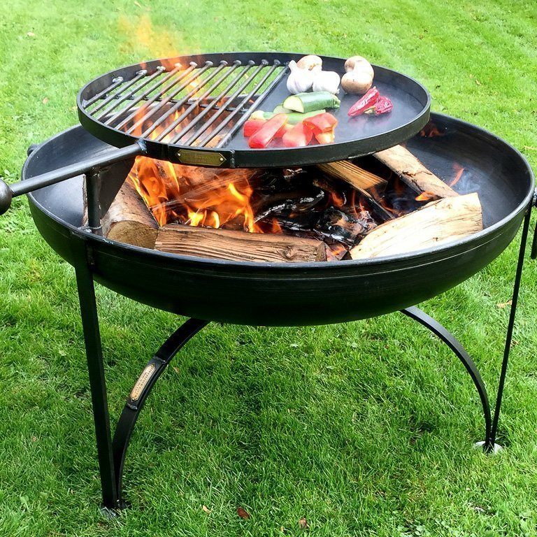 Plain Jane Fire Pits with Swing Arm