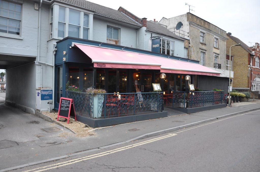 Pompette Restaurant, North Parade, Summertown, Oxford