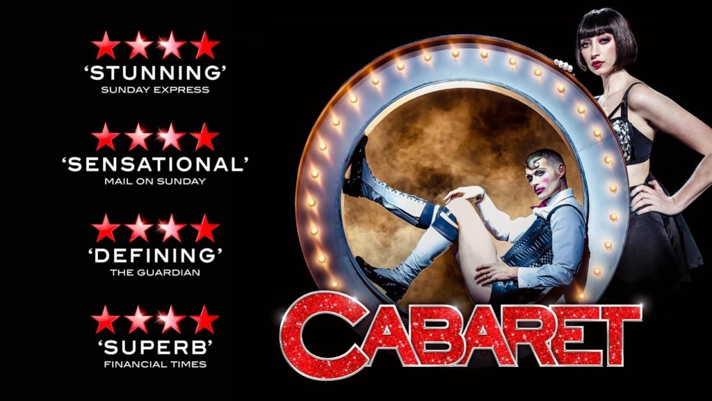 Poster for Cabaret Musical at New Theatre Oxford