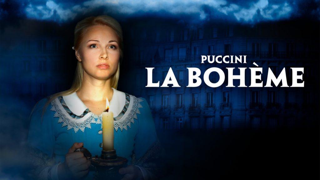 Poster for Ellen Kent's La Bohème at New Theatre Oxford