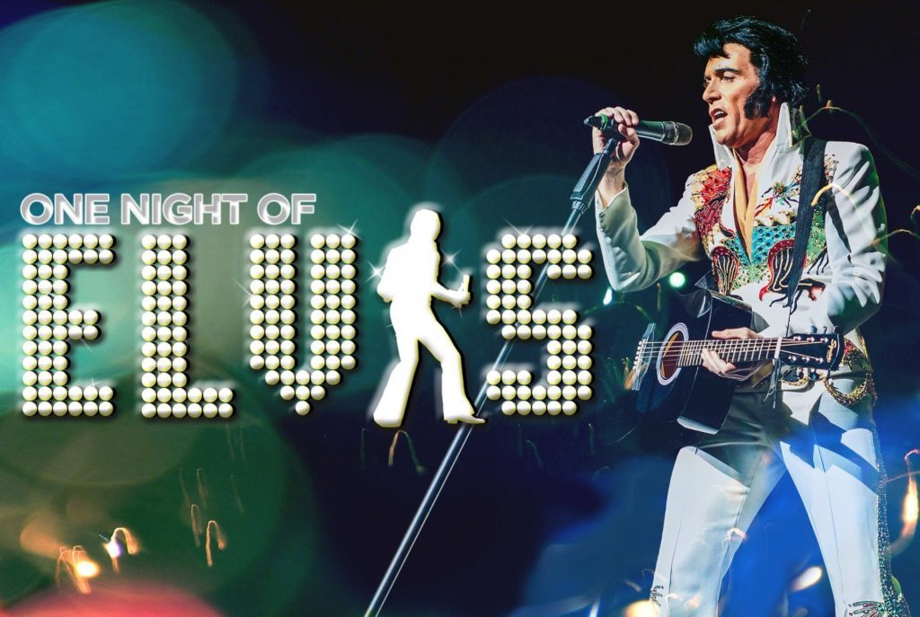 Poster for One Night of Elvis - Lee Memphis King at New Theatre Oxford