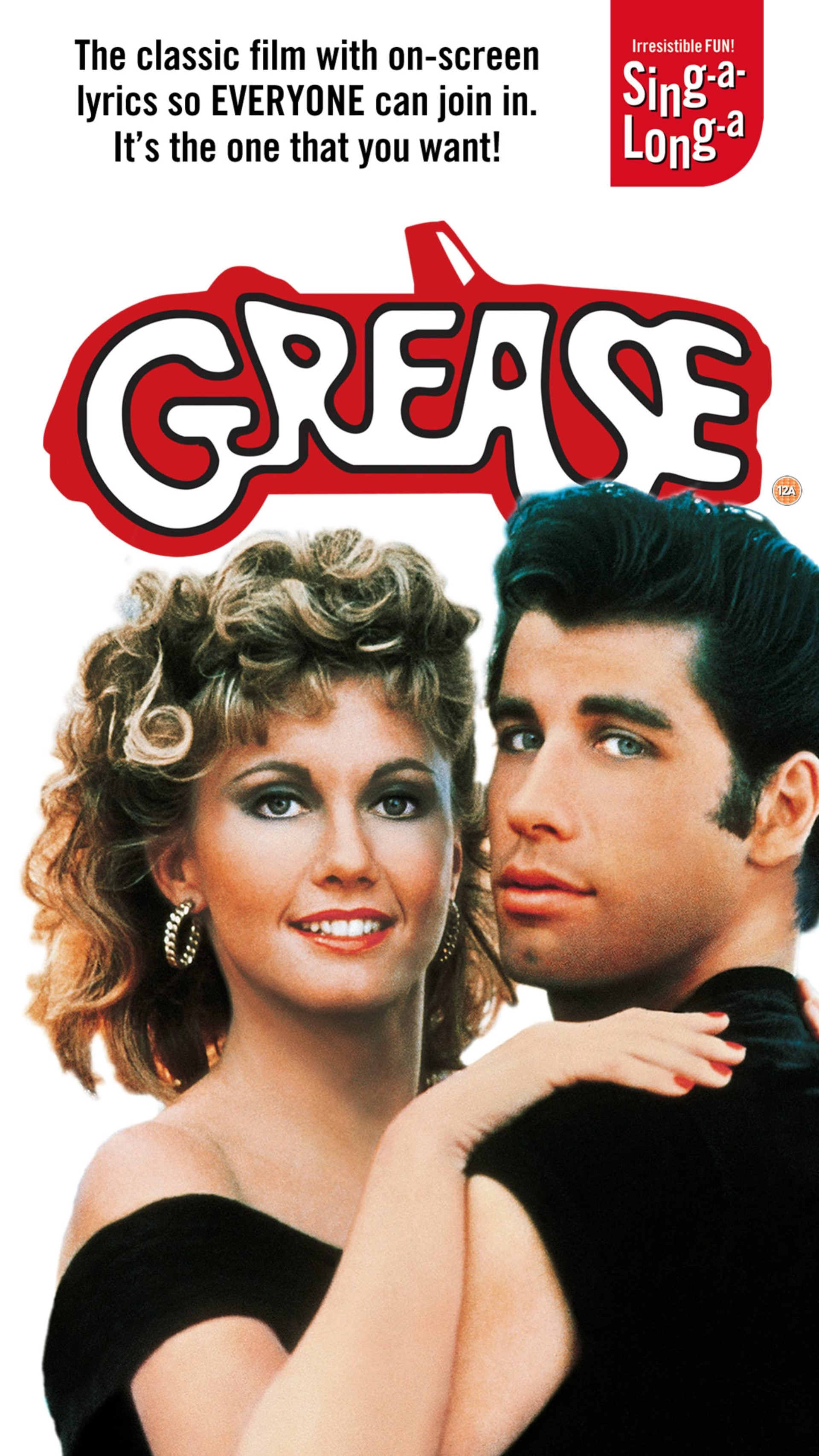 Poster for Sing-a-Long-a Grease at New Theatre Oxford
