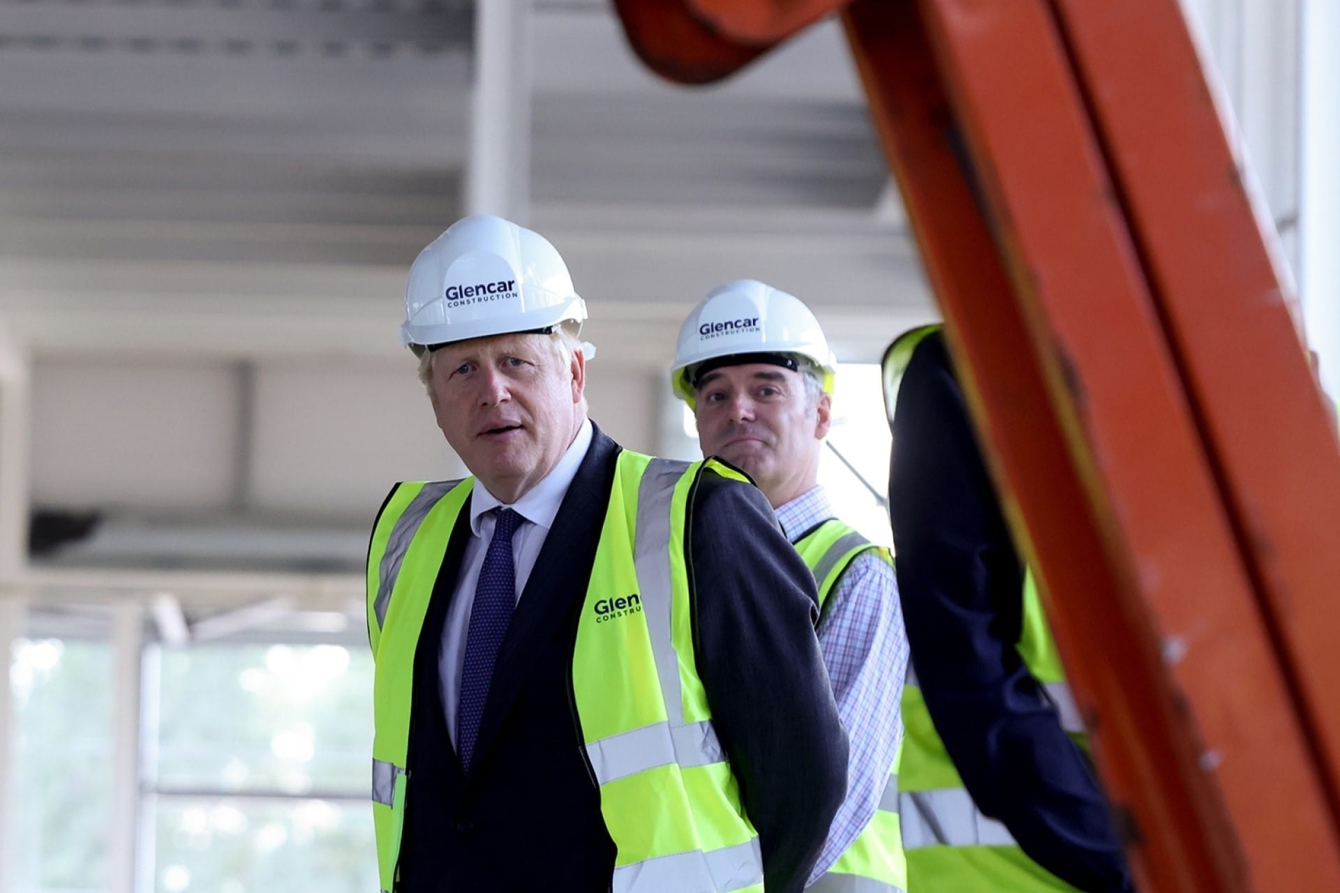 G7 health summit highlights Oxfordshire's thriving life sciences sector. Image shows PM Boris Johnson visiting the Vaccines Manufacturing Innovation Centre