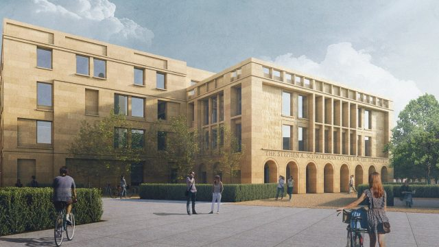 Proposed designs for the Schwarzman Centre for the Humanities unveiled