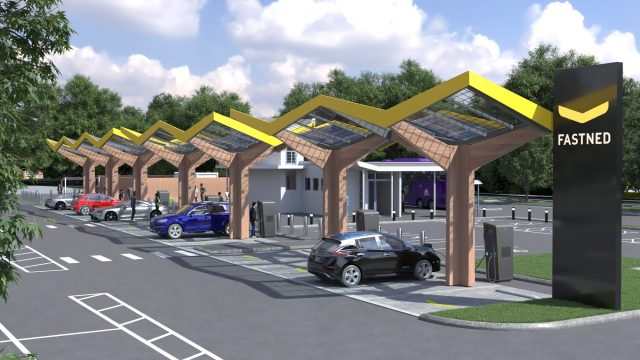 Powerful electric vehicle EV charging superhub is heading to Oxford