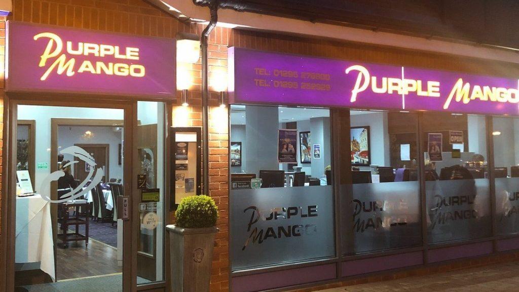 Purple Mango Restaurant, Banbury, Oxfordshire