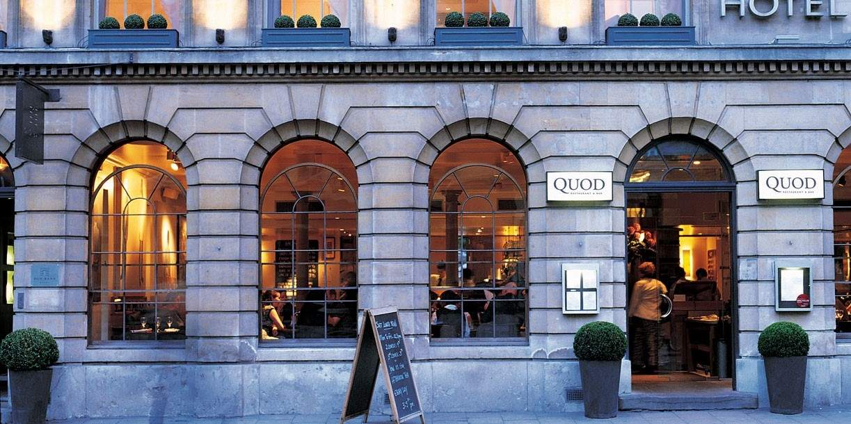 Quod Restaurant & Bar Oxford - Exterior