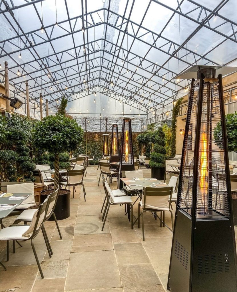 The Terrace at Quod Restaurant in Oxford