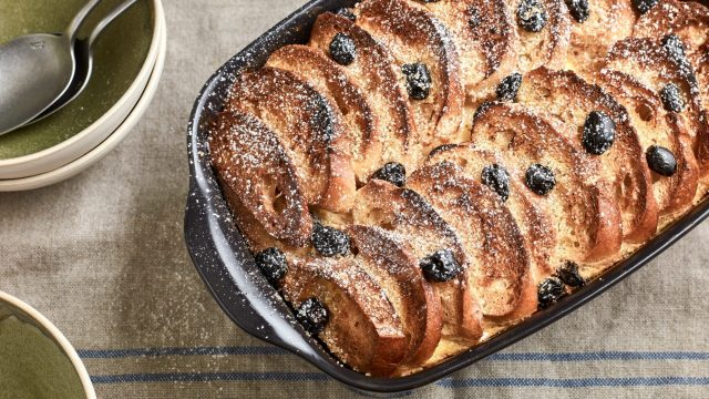 Raymond Blanc's Bread and Butter Pudding Recipe