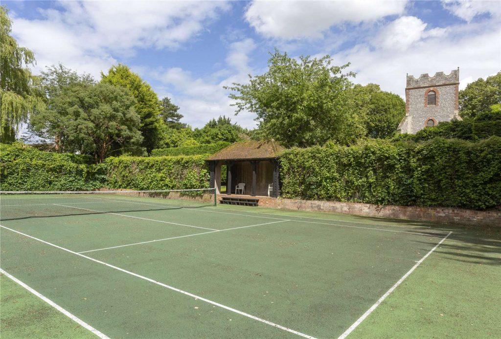 Rectory Farm House, Wallingford, Oxfordshire -Tennis Court