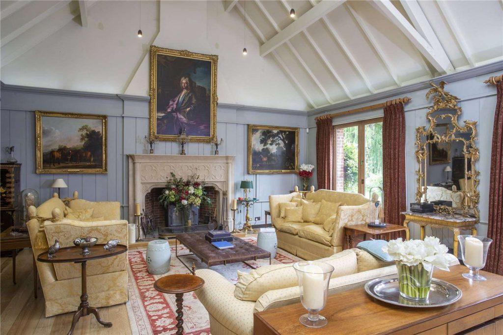 Rectory Farm House, Wallingford, Oxfordshire - Sitting Room