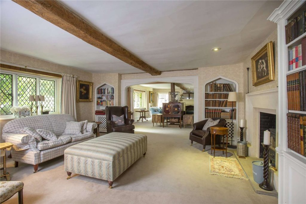 Rectory Farm House, Wallingford, Oxfordshire - Drawing Room