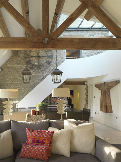 Redesign of an Oxfordshire manor house by Pippa Paton Design