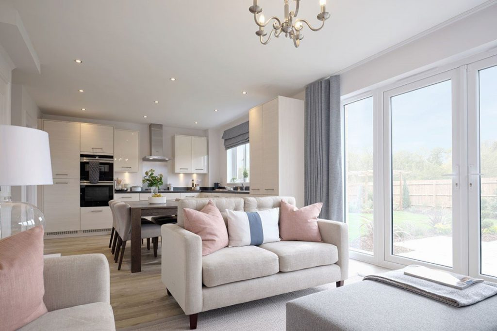 The three-bedroom Leamington Lifestyle at Redrow's The Lawns development on Kennington Road in Oxford