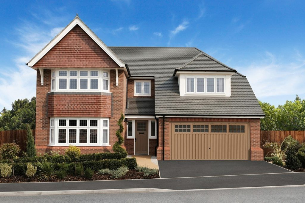 The the five-bedroom Marlborough at Redrow's The Lawns development on Kennington Road in Oxford
