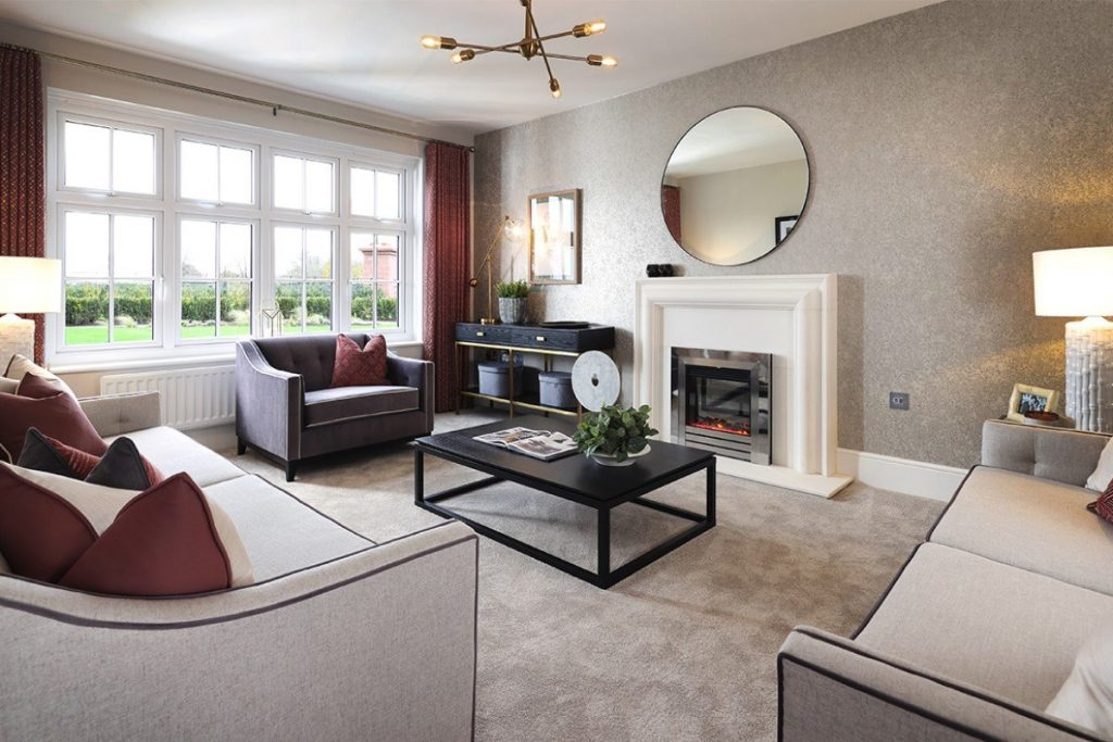 The four-bedroom Sunningdale at Redrow's The Lawns development on Kennington Road in Oxford