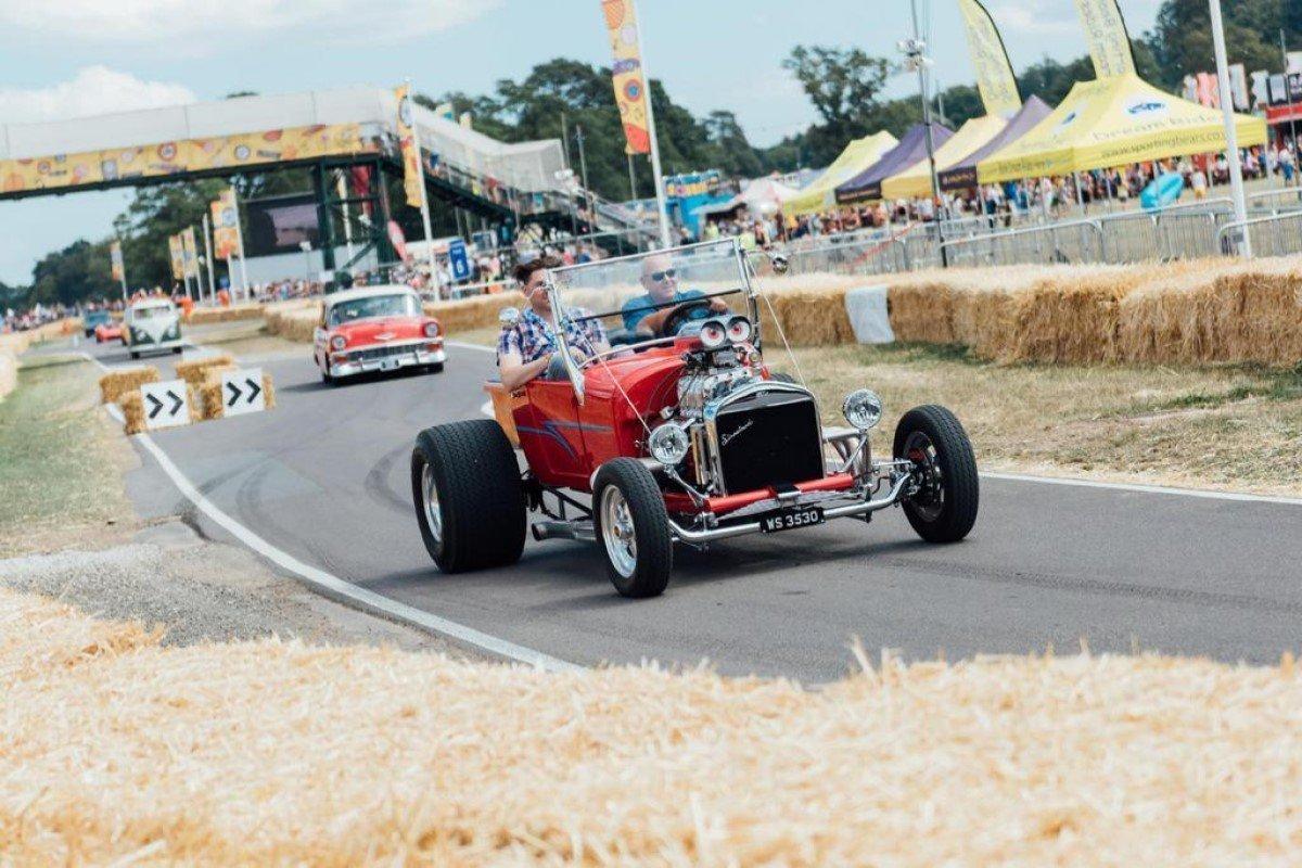 Retro CarFest 2021 at Bicester Heritage
