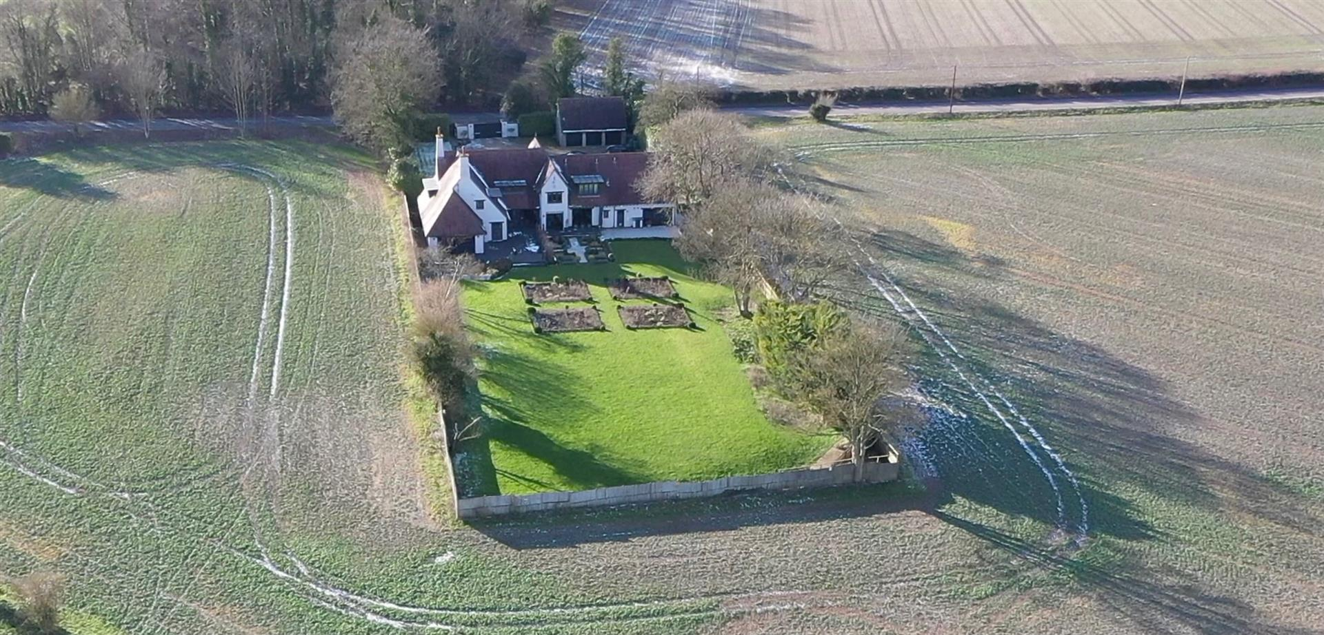 Rowstock Manor - Gallery Image 27 - Aerial View