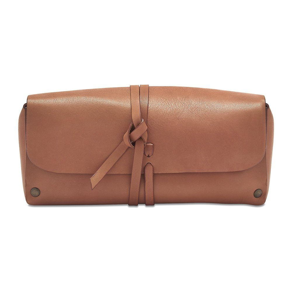 Father's Day Luxury Gift Ideas: Ruxley Leather Wash Bag from The Brighton Beard Co.
