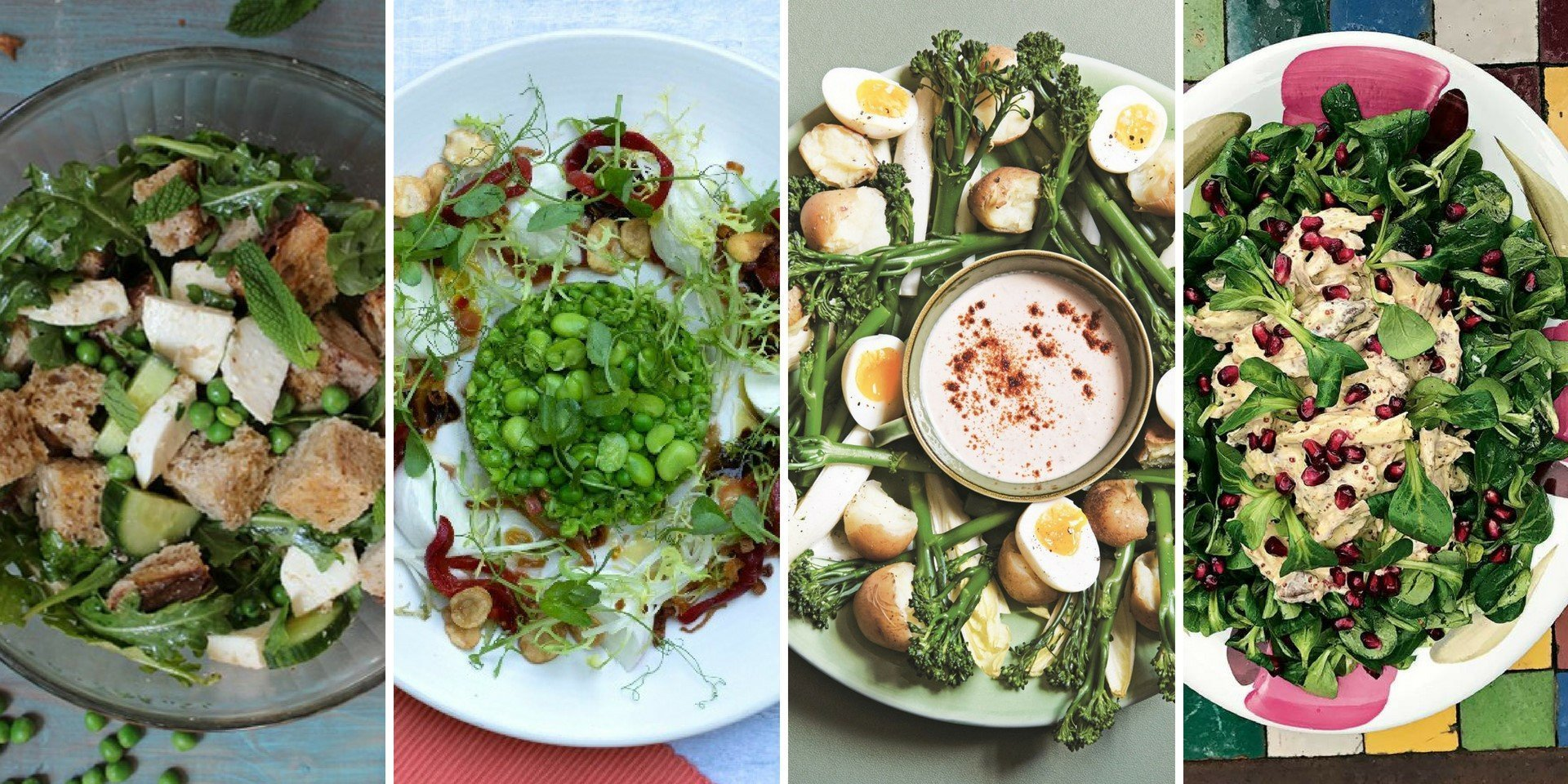 Well-dressed salad recipies for summer