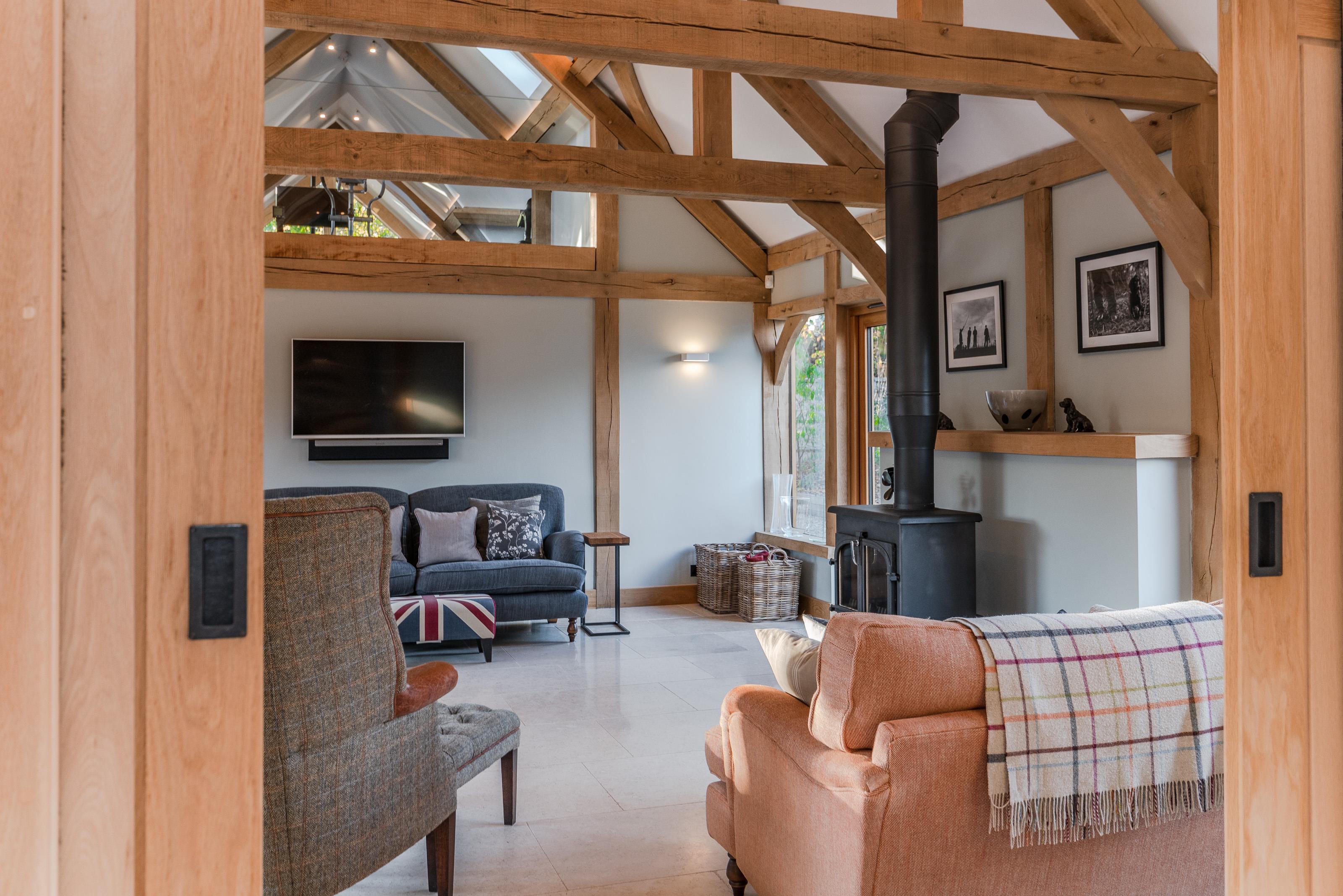 School House Frilford Heath Abingdon Oxfordshire - Sitting Room