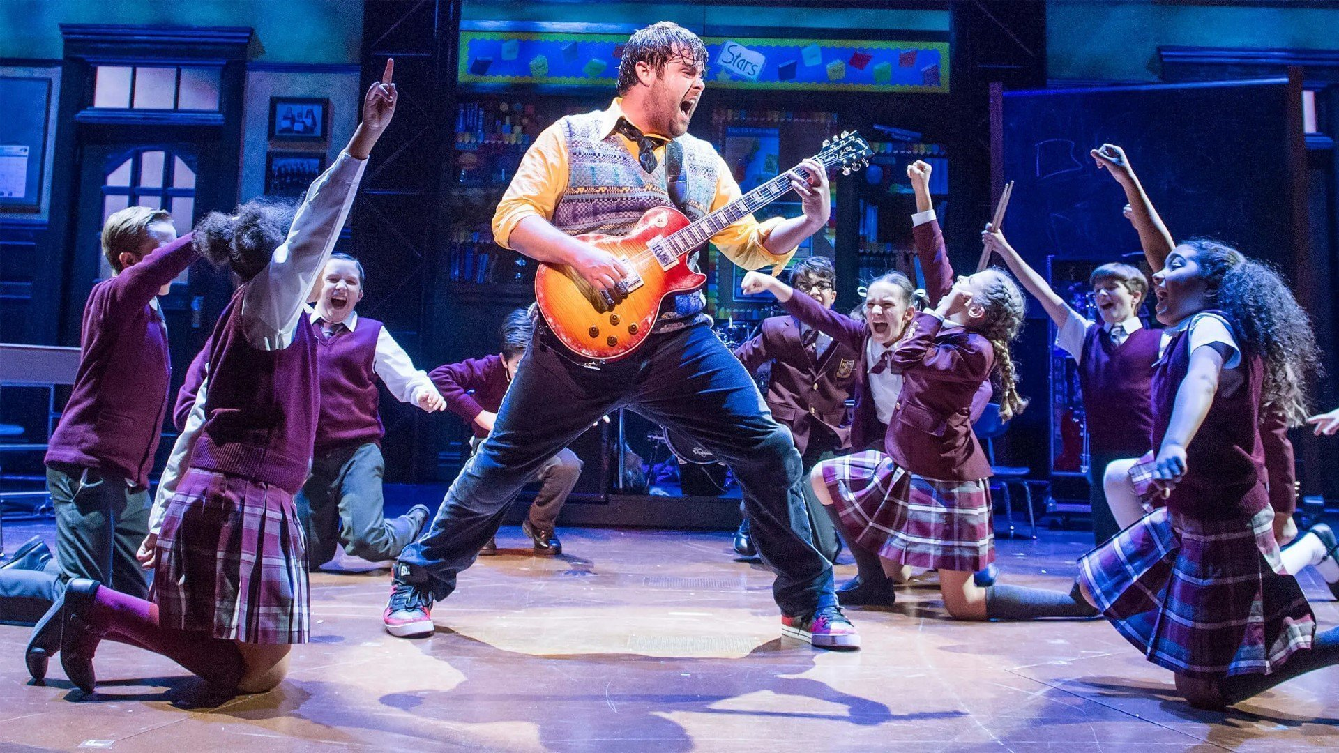 School of Rock at New Theatre Oxford