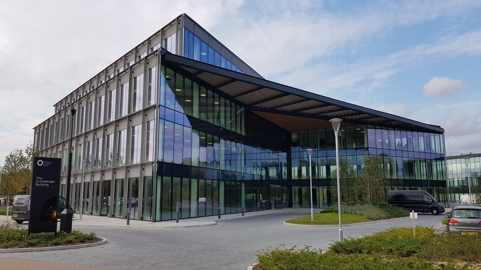 Orbit Discovery raises $7.6m to accelerate growth in peptide discovery business. Image: The Schrödinger Building at The Oxford Science Park