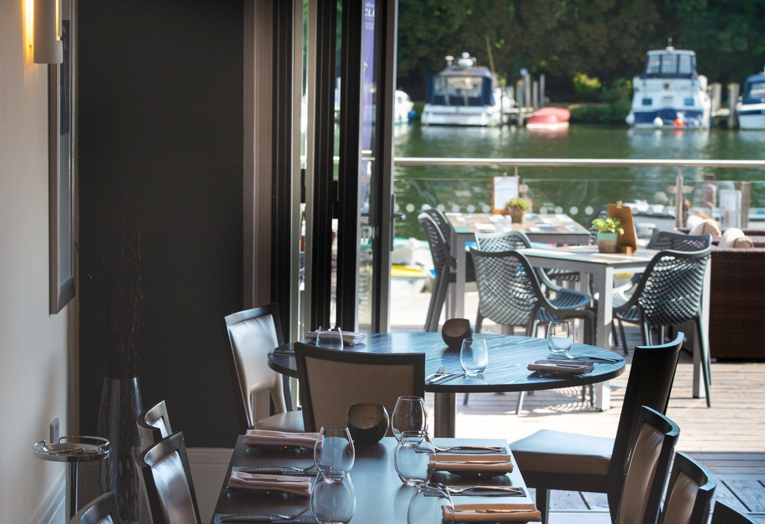 Shaun Dickens at The Boathouse Reastaurant in Henley-on-Thames, Oxfordshire