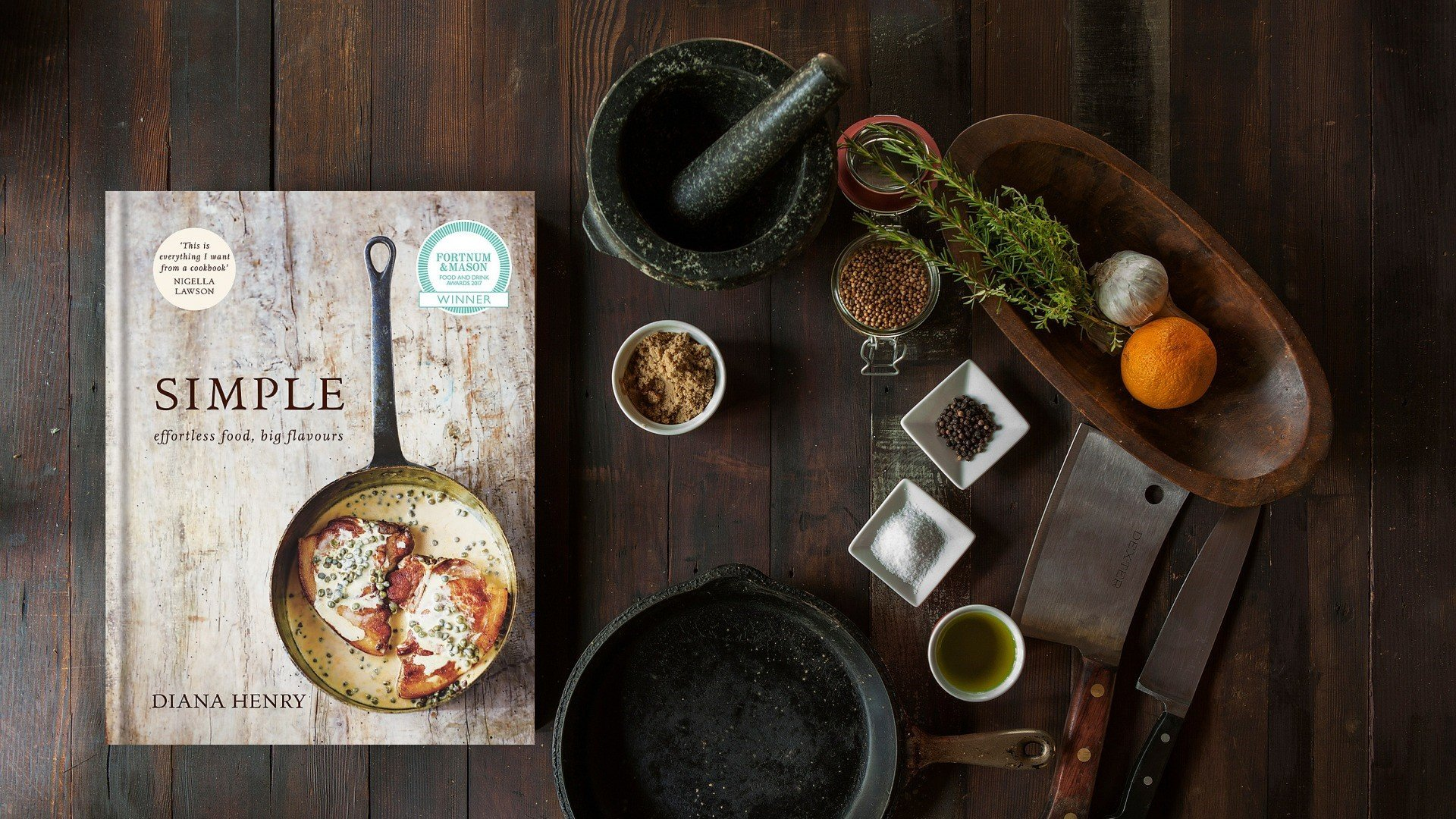 SIMPLE Effortless Food Big Flavours - A Cookbook by Diana Henry