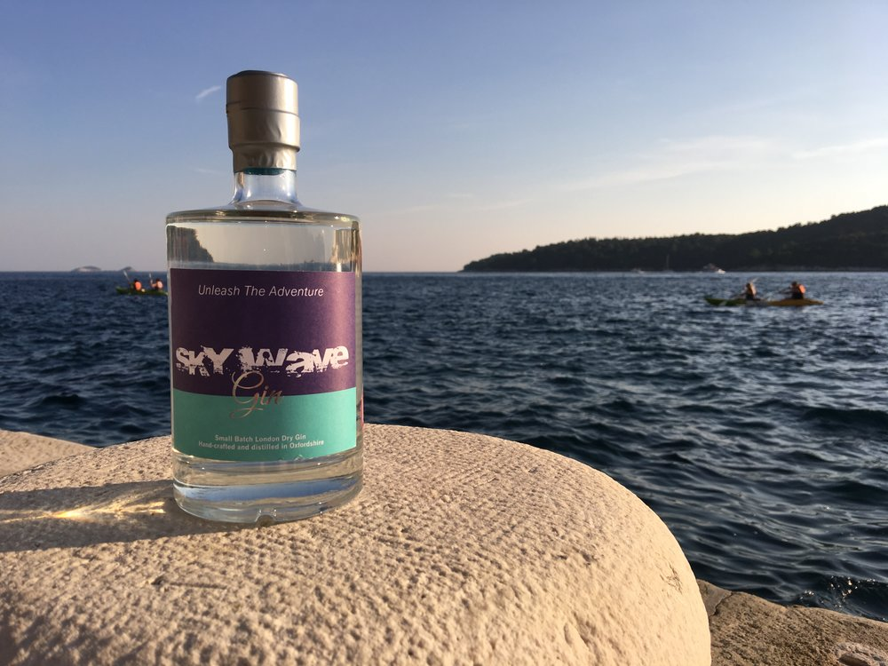 Sky Wave Gin by The Sky Wave Distilling Company Limited in Bucknell, Bicester, Oxfordshire