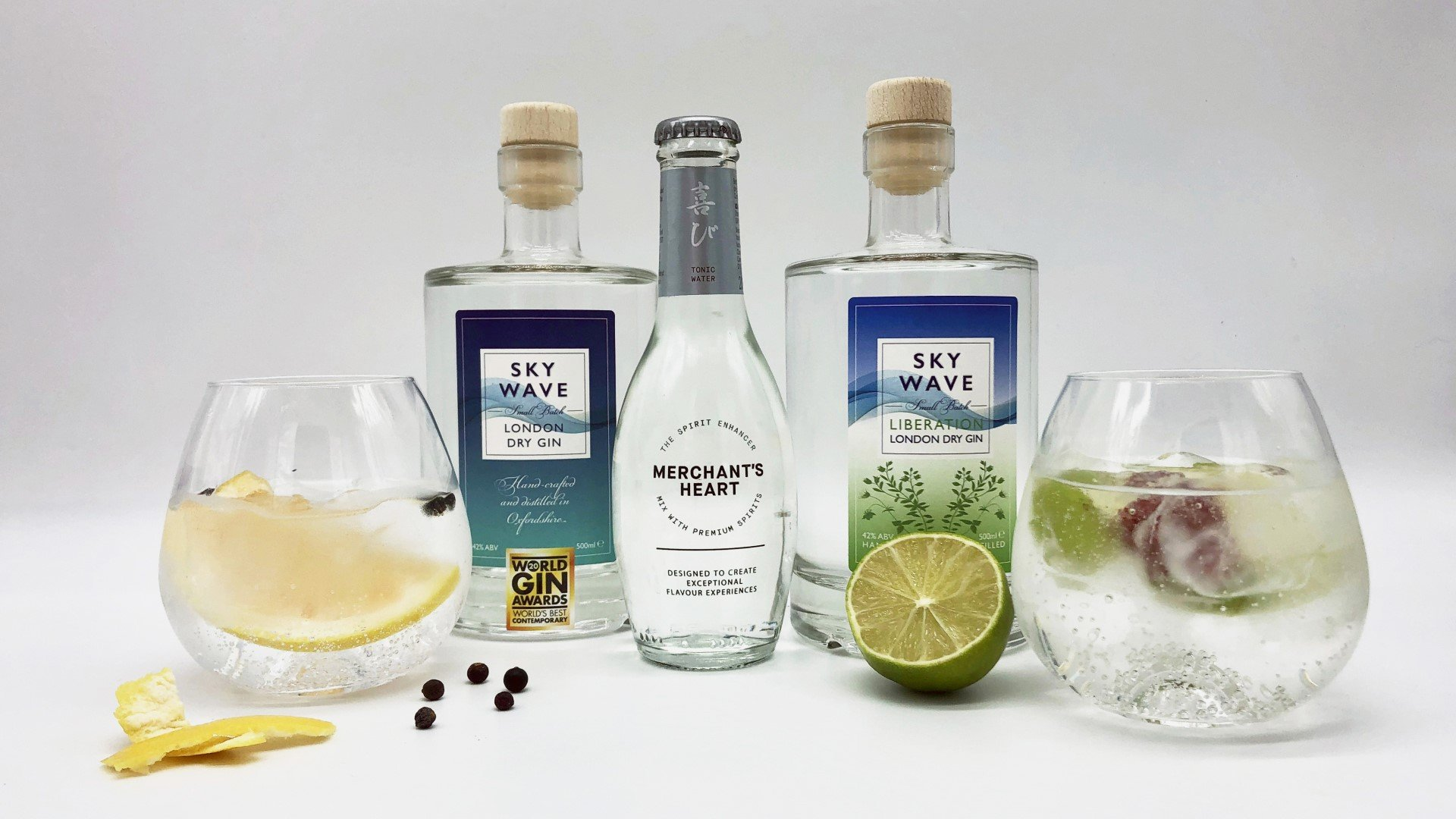 Multi-award Sky Wave Gin to move to Bicester Heritage