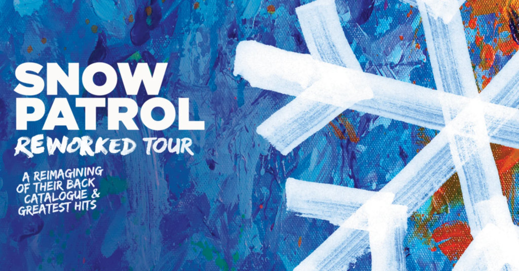 Poster for Snow Patrol Reworked at New Theatre, Oxford