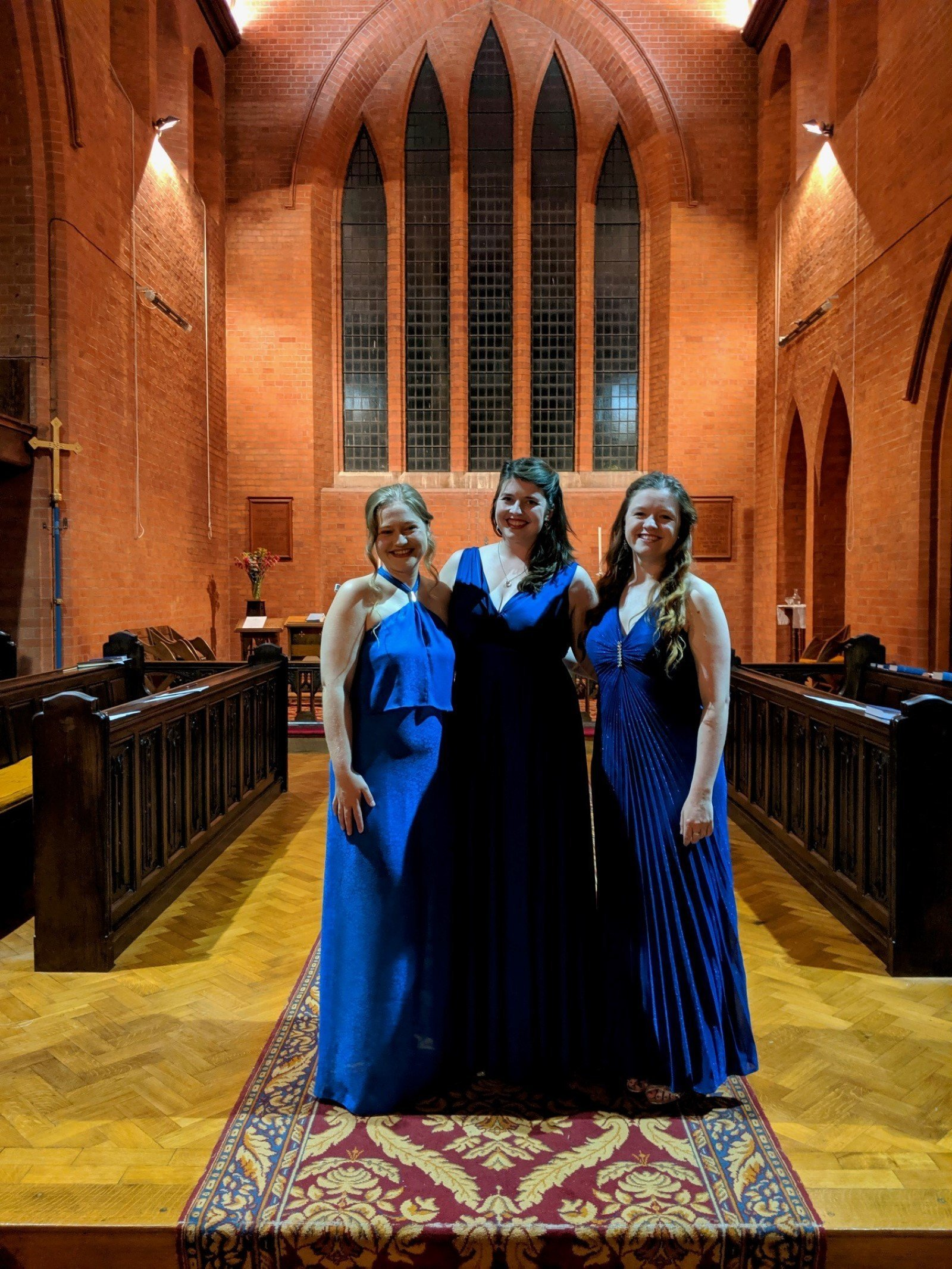 Sorelle Singers - Katie Blackwell, Olivia Bell and Megan Strachan