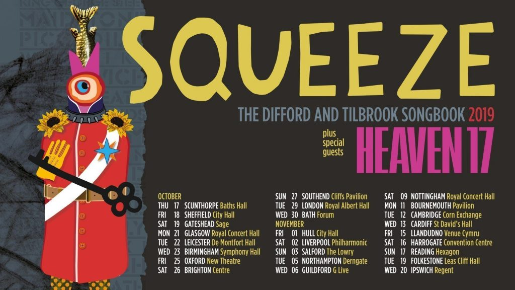 Squeeze Plus Special Guests Heaven 17 Concert at New Theatre, Oxford